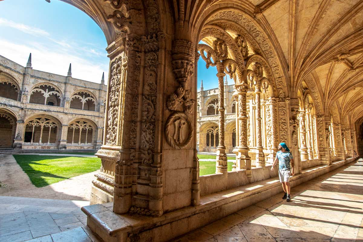 3 days in lisbon - jeronimos monastery