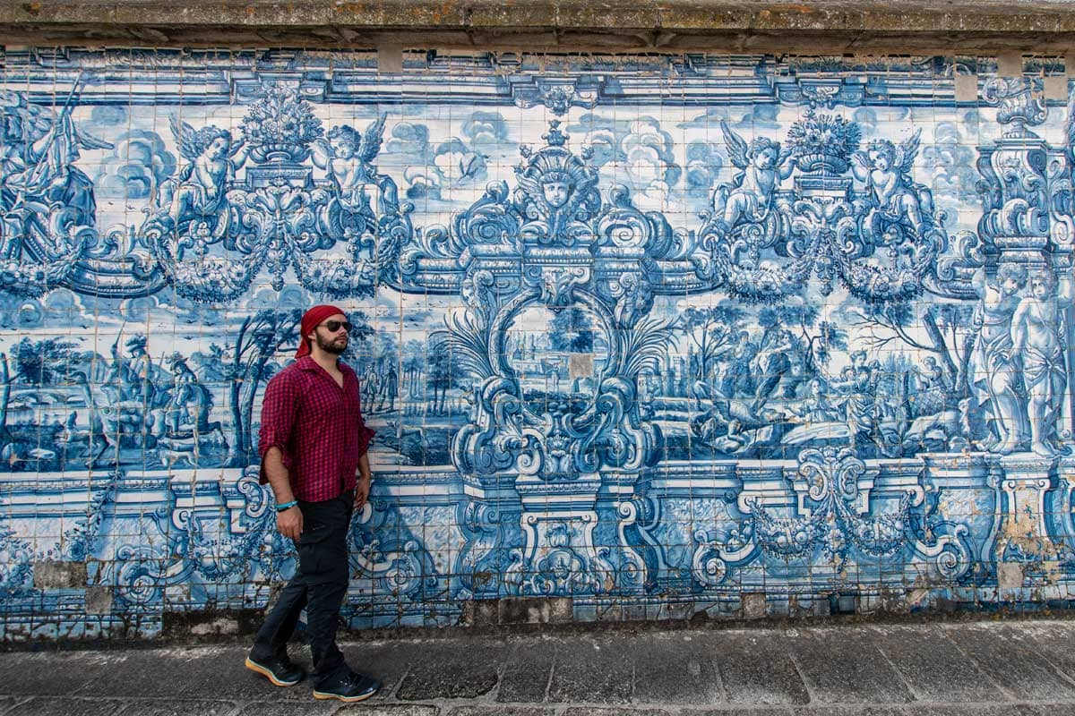 2 days in porto - azulejos