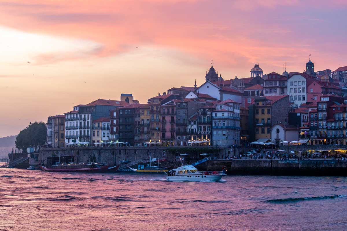 2 days in porto -gaia-sunset