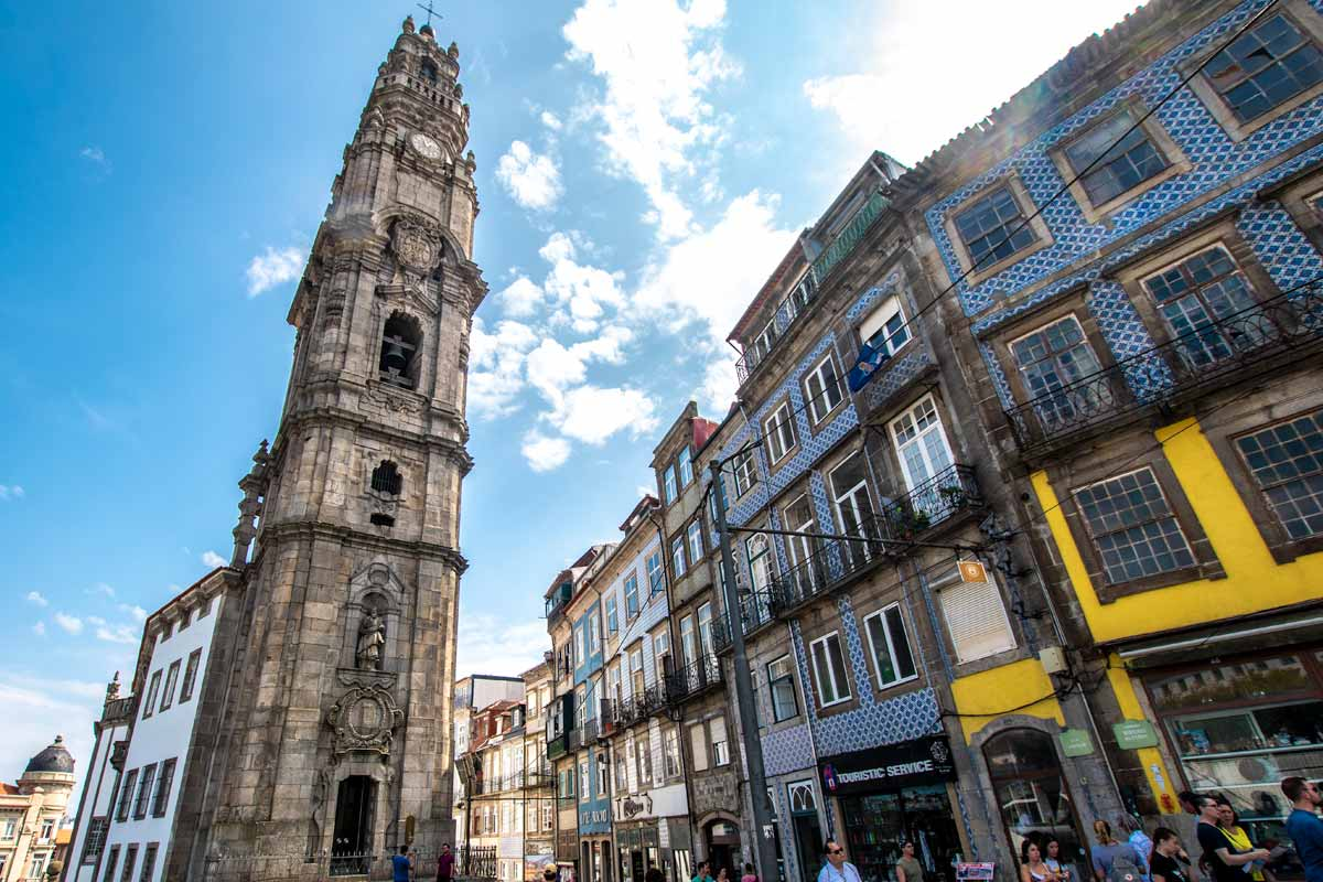 2 days in porto - clerigos-tower
