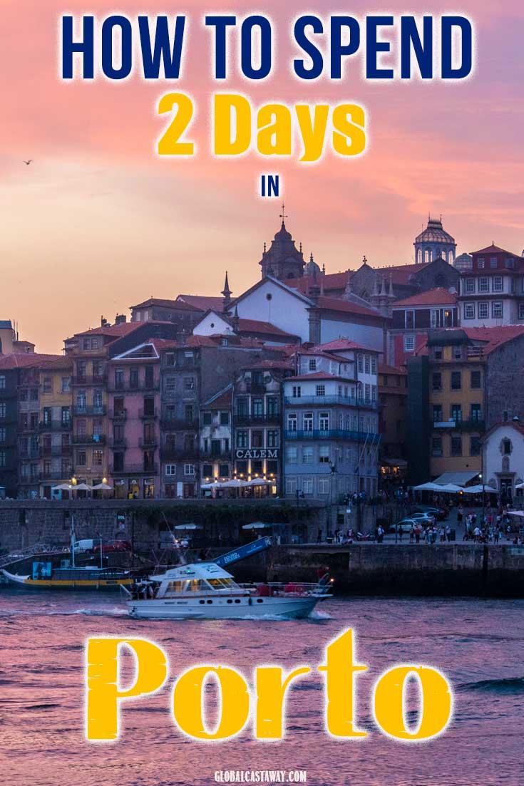 2 days in Porto pin