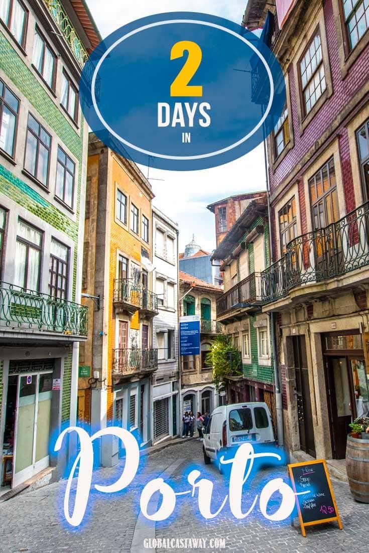 Porto itinerary guide pin