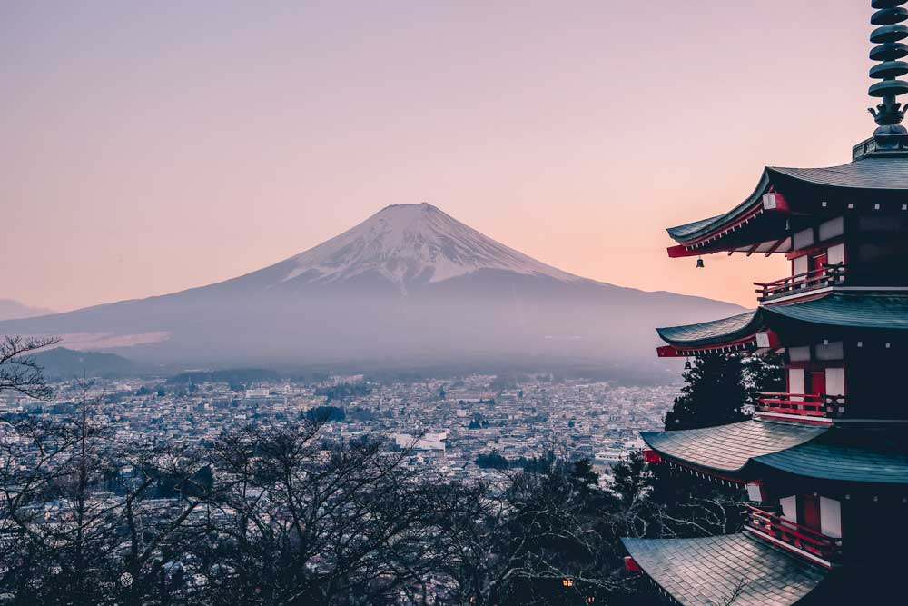 bucket list ideas - japan mount fuji