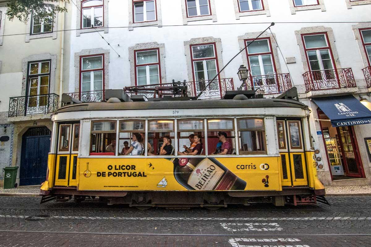 travel lisbon tram