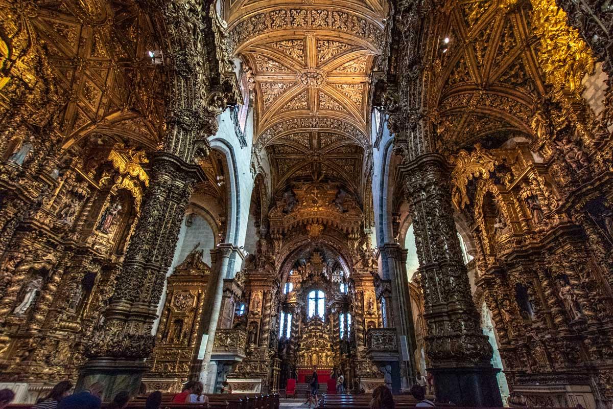porto itinerary - Igreja de Sao Francisco