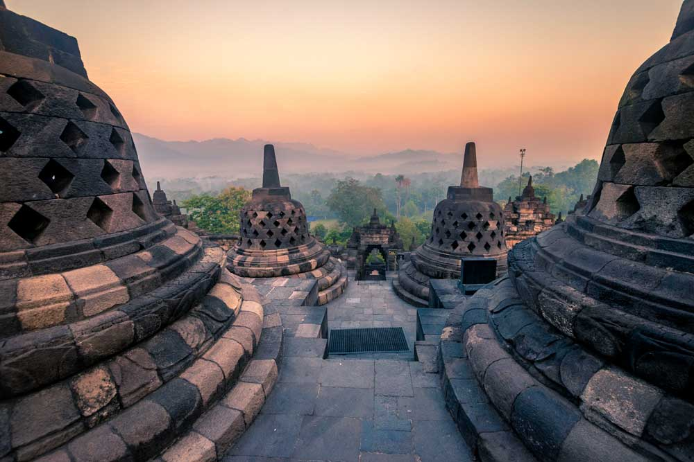 unique bucket list ideas - borobudur in indonesia