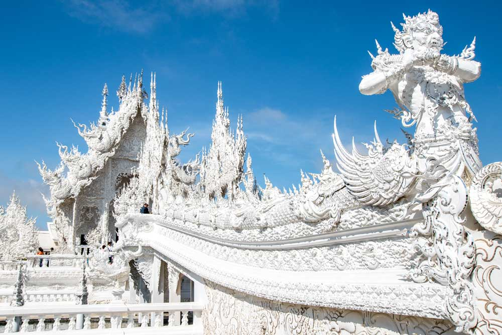unique bucket list ideas - white temple of chiang rai