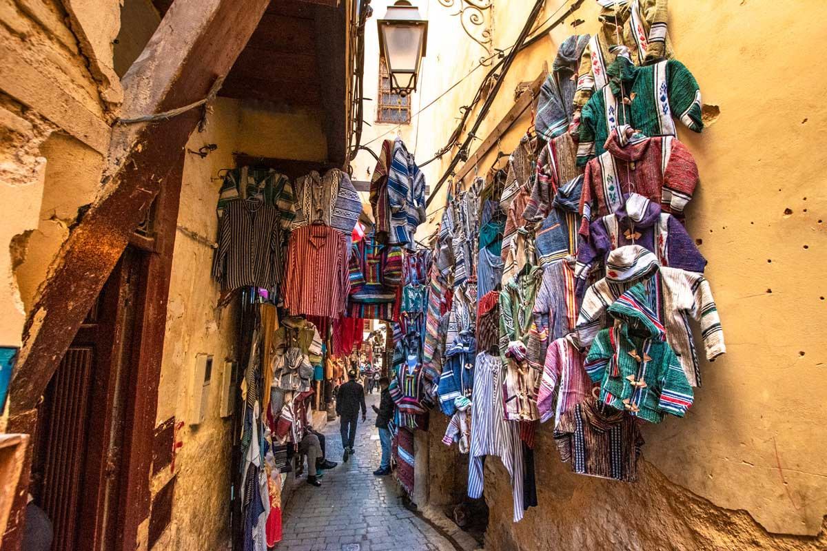 2 days in fes - steet vendors