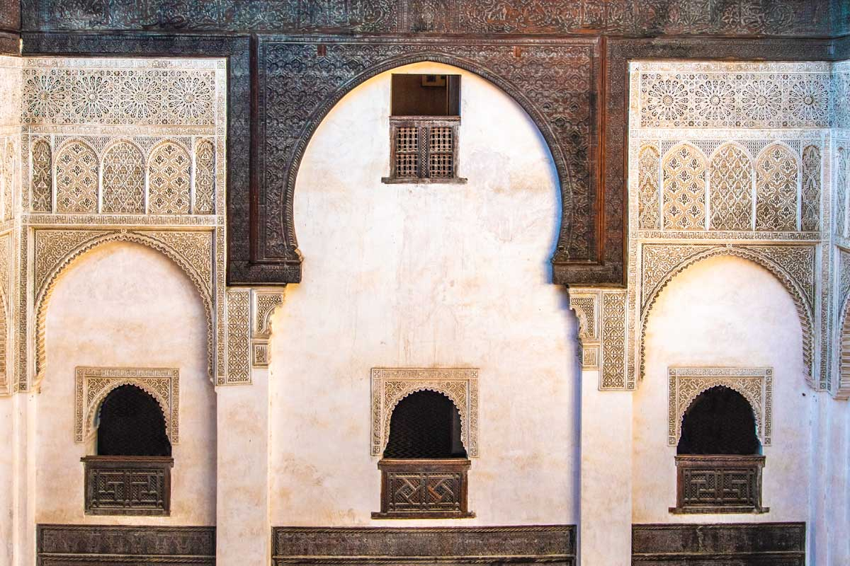 2 days in fes - madrasa design
