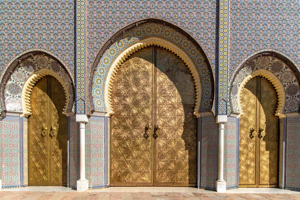 2 days in fes - the royal palace