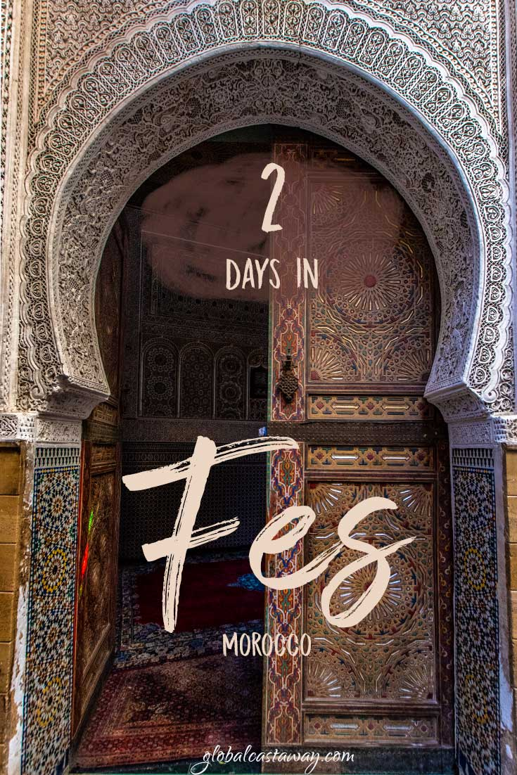 2 days in fes pin