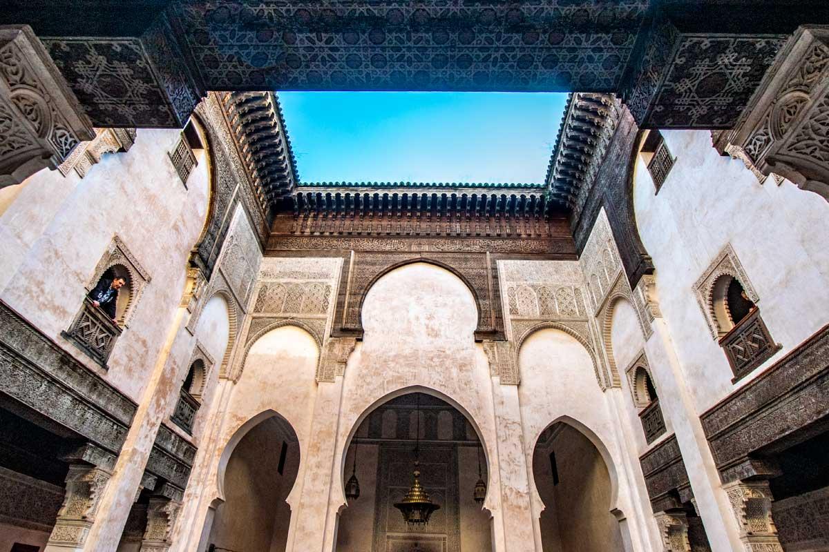 al-attarine-madrasa - two days in fes -