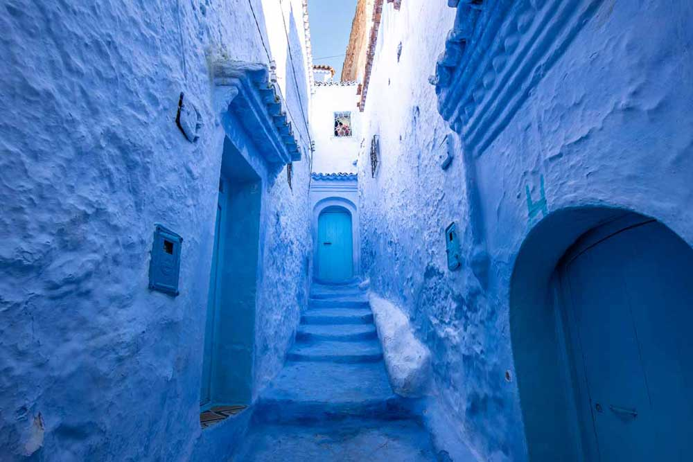 bucket list ideas - chefchaouen morocco