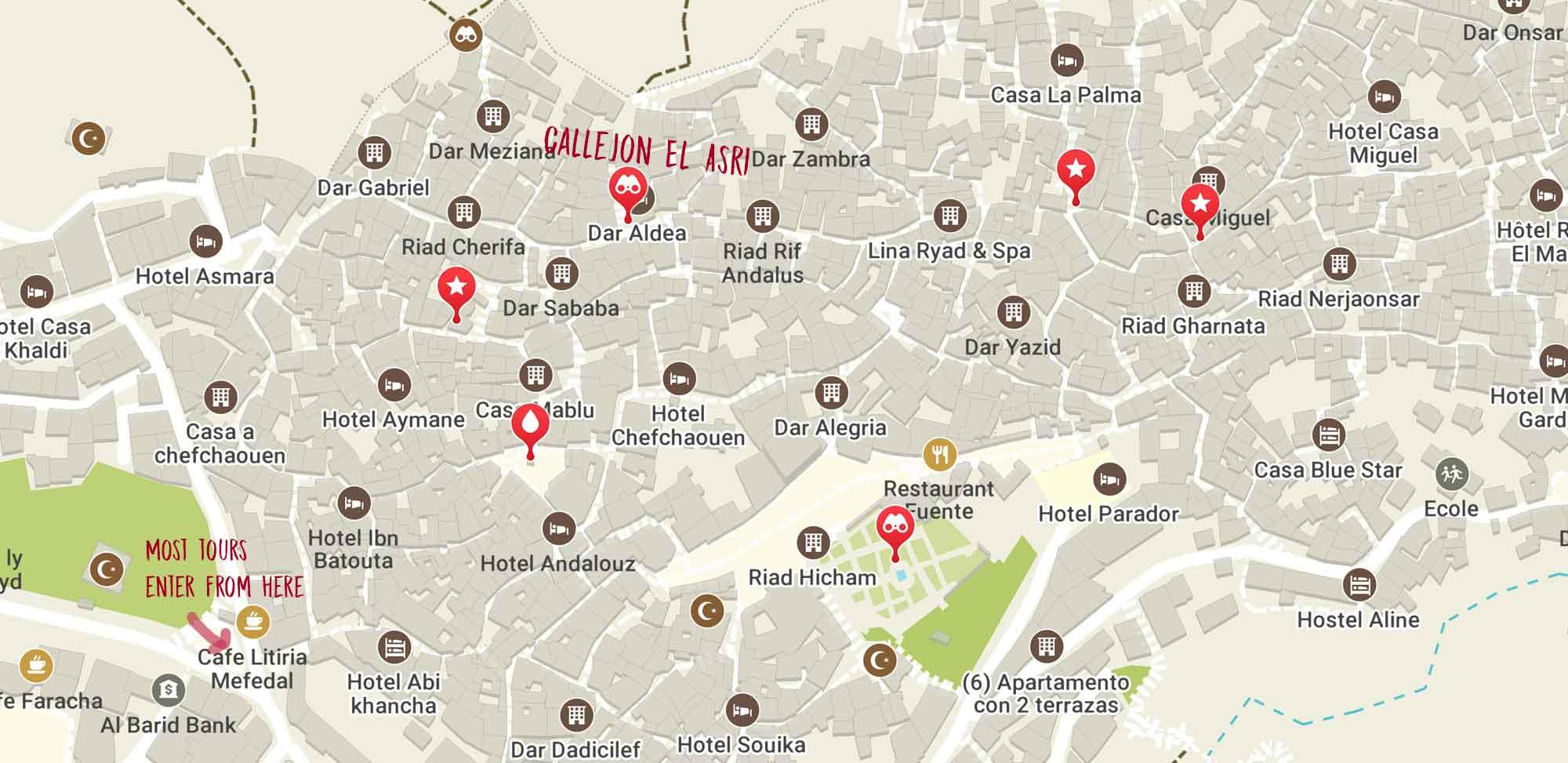chefchaouen-el-asri-map