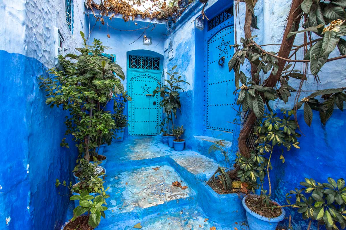 house in chefchaouen