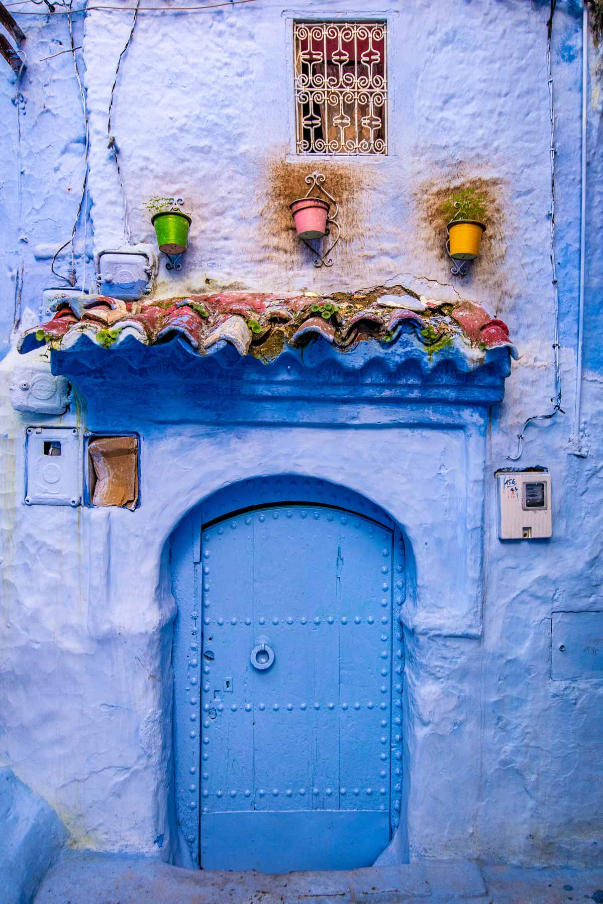 Chefchaouen photo guide the door
