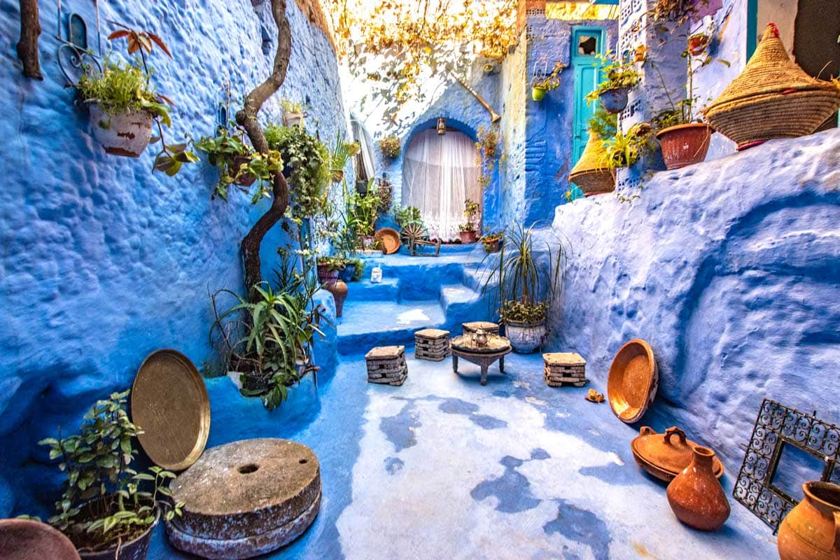 chefchaouen photo guide paid set