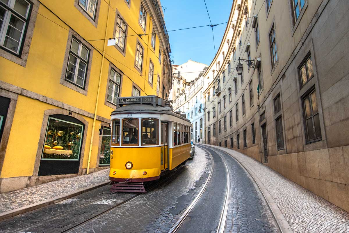 what not to do in lisbon - tram 28