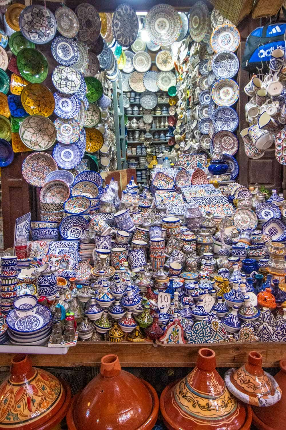 two days in fes - ceramics shop