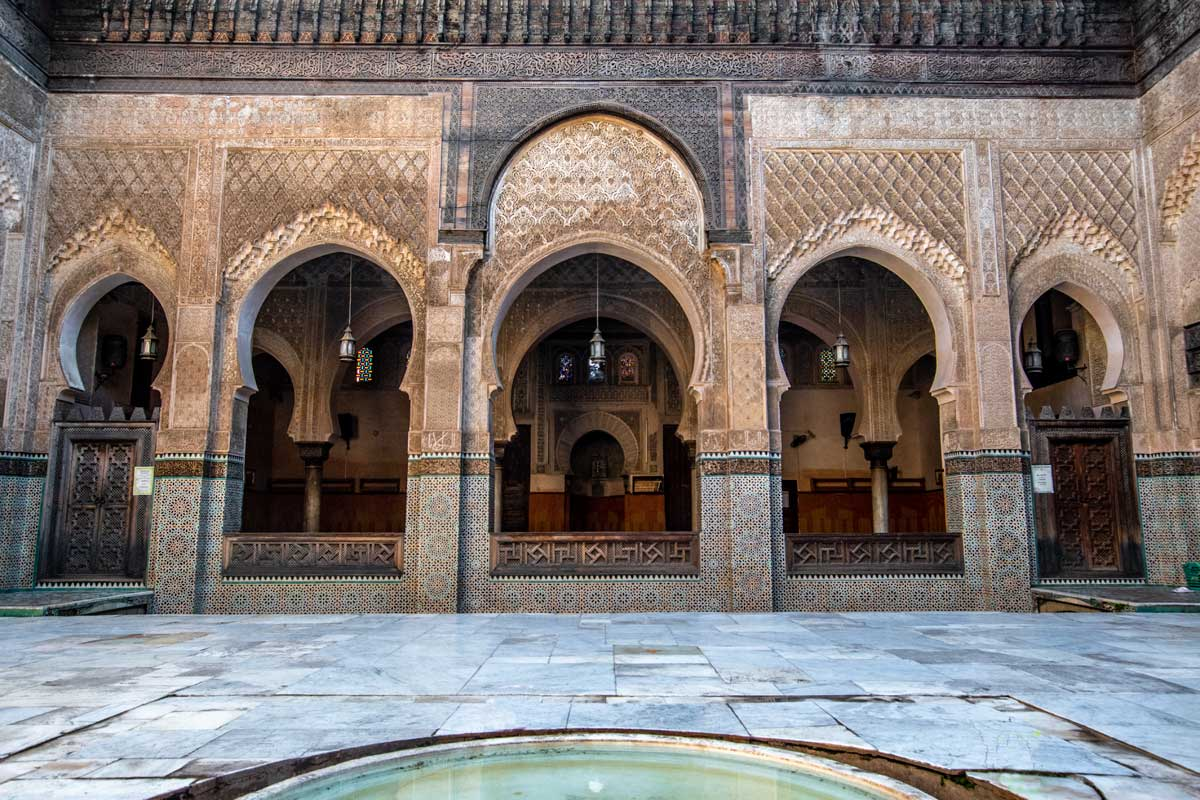 two days in fes - inania madrasa