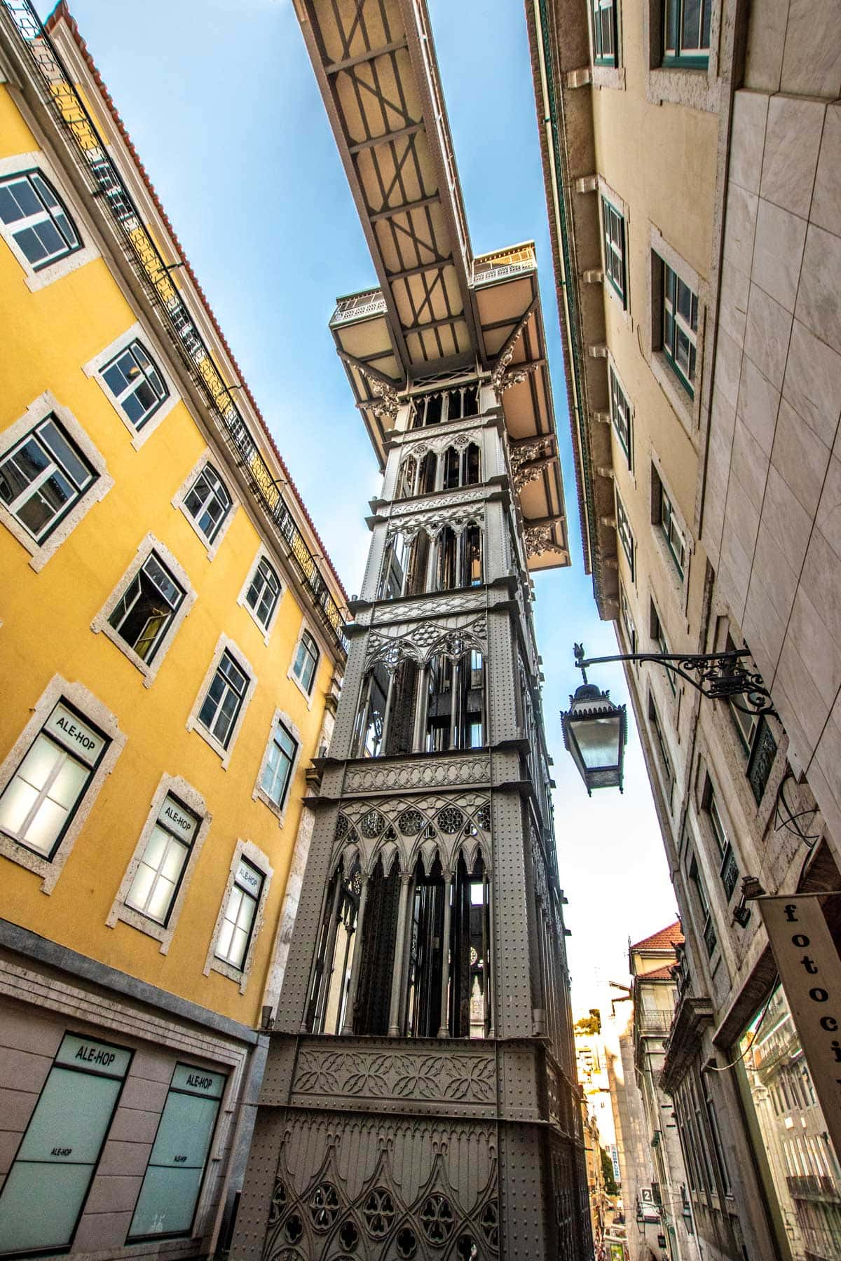 what not to do in lisbon - the santa justa lift
