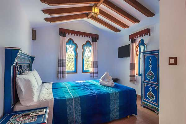 where to stay in chefchaouen - casa sabila