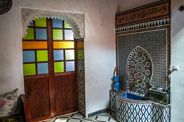 where to stay in fes - airbnb