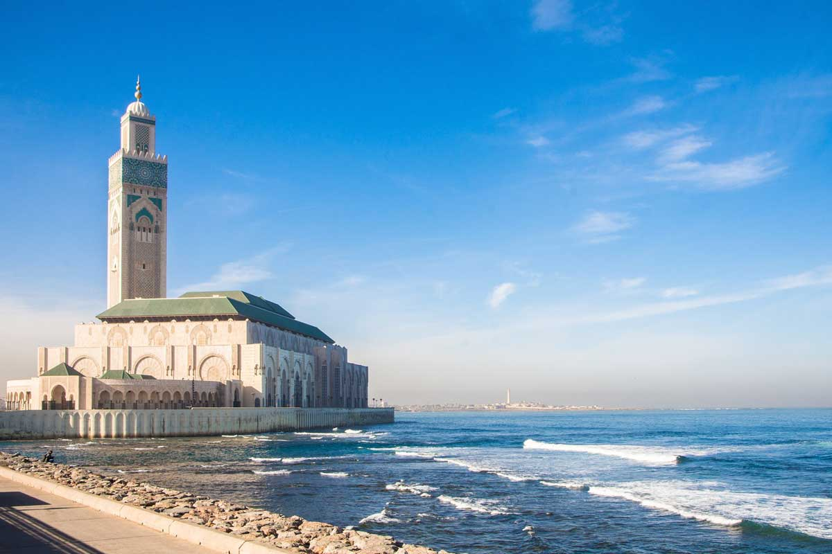 10 Days Morocco Itinerary - Hassan II Mosque