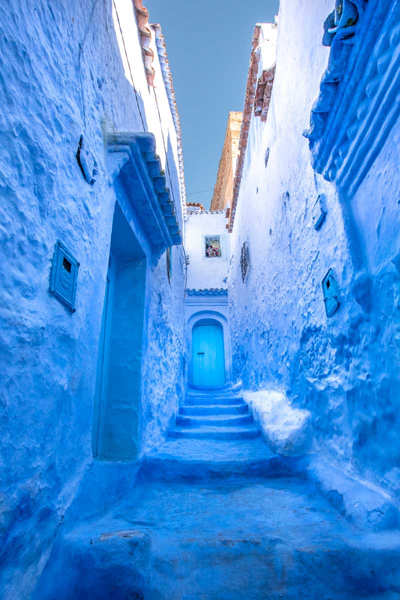 10 Days Morocco Itinerary - The Blue City