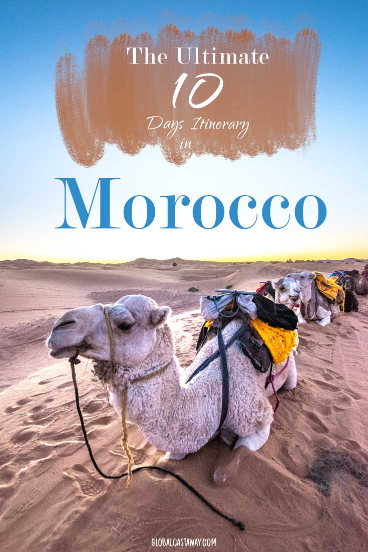 Explore the diverse country of Morocco with this detailed Morocco travel guide | Travel Morocco | Morocco guide | Morocco Photography | 10 days in Morocco | Travel Marrakech | Travel Fes | Travel Chefchaouen | Travel Sahara desert| #travelmorocco