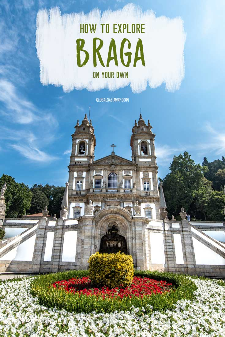 FInd out how to explore the beautiful city of Braga on a Porto day trip | Braga Portugal | Travel Braga | Travel Portugal | Porto Day Trips | #braga #bragaportugal