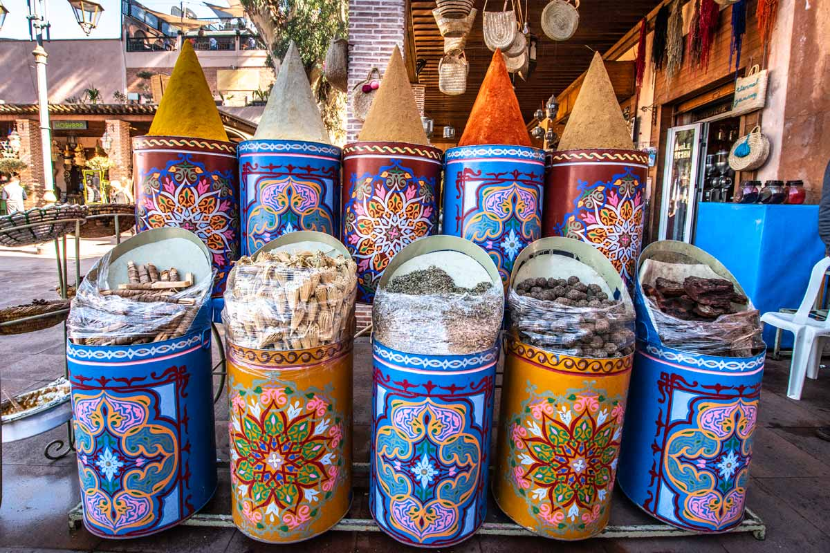 Spices of Marrakesh