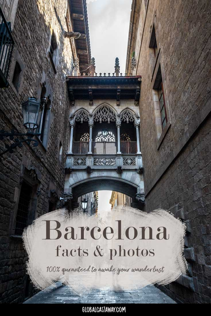 25 stunning photos and 15 interesting facts that will make you fall in love with barcelona | Barcelona photography | travel photography | travel barcelona | travel spain | barcelona facts | barcelona photos | #barcelonaphotography | #barcelonafacts