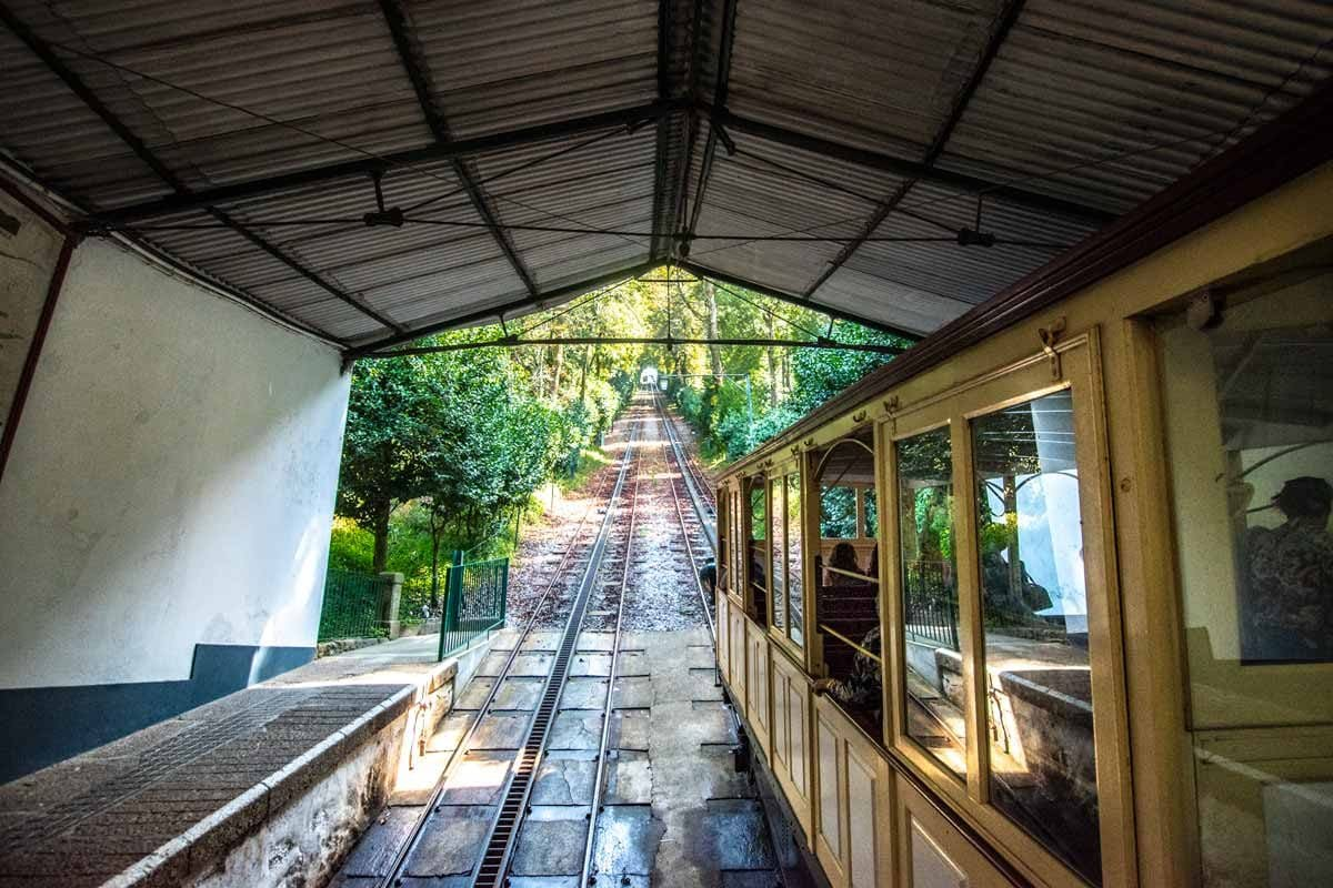 Porto to Braga Day Trip: Bom Jesus funicular