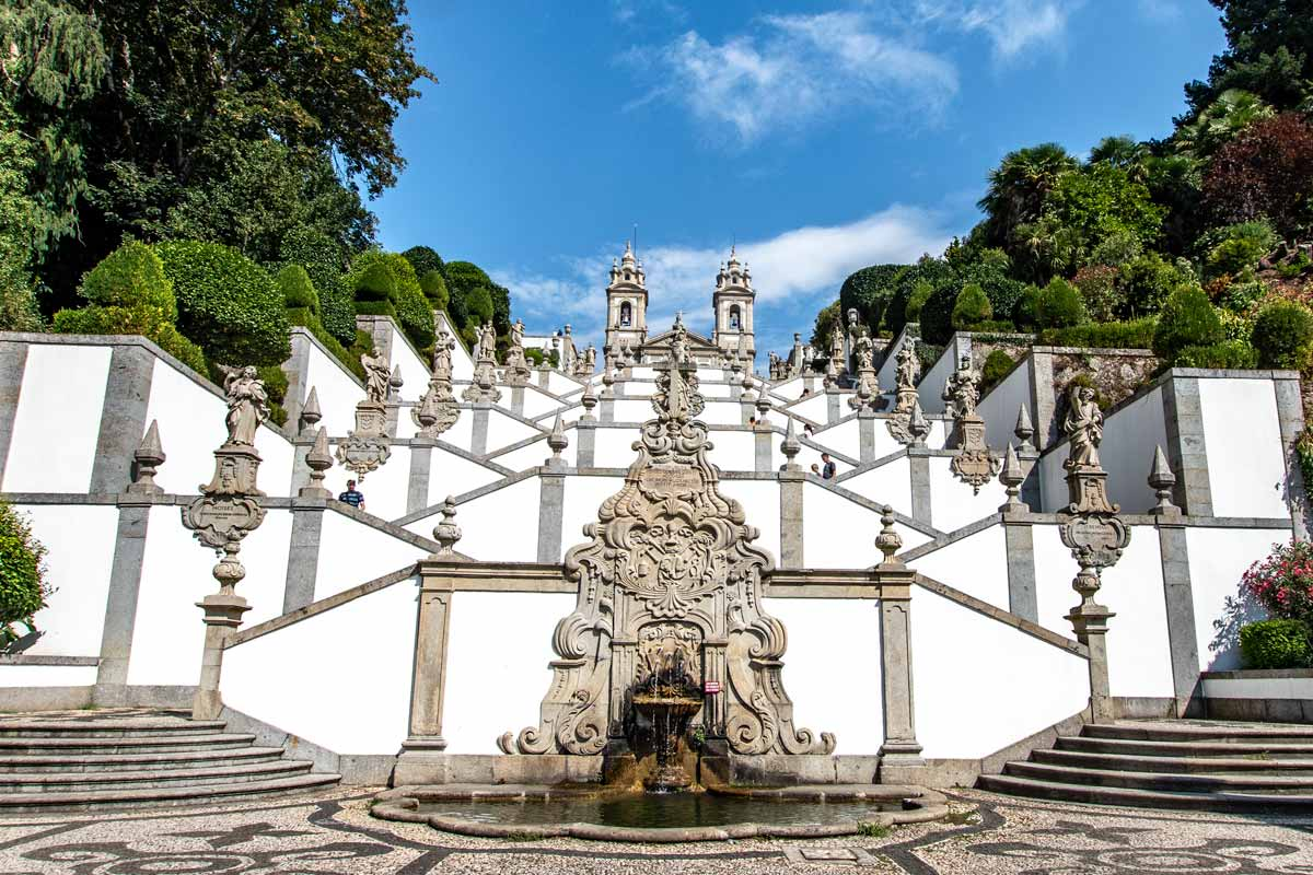Porto to Braga Day Trip -Bom Jesus do Monte