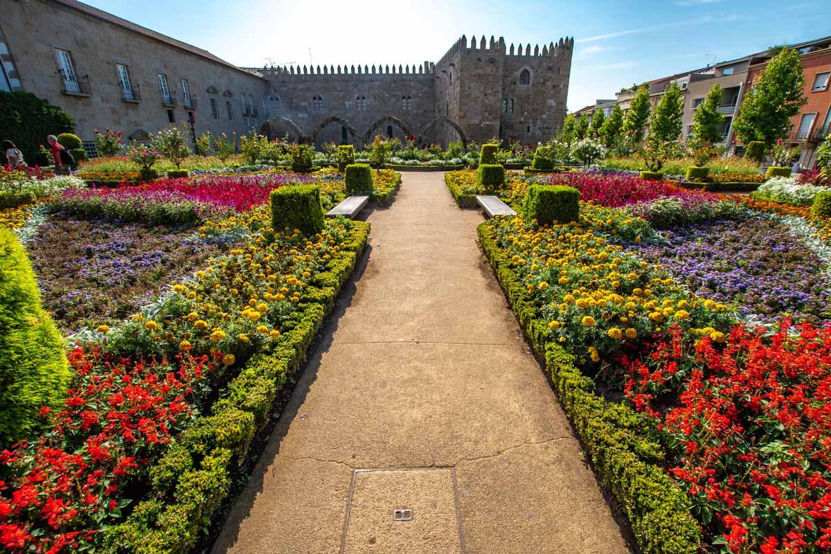 Porto to Braga Day Trip -Jardim de Santa Barbara