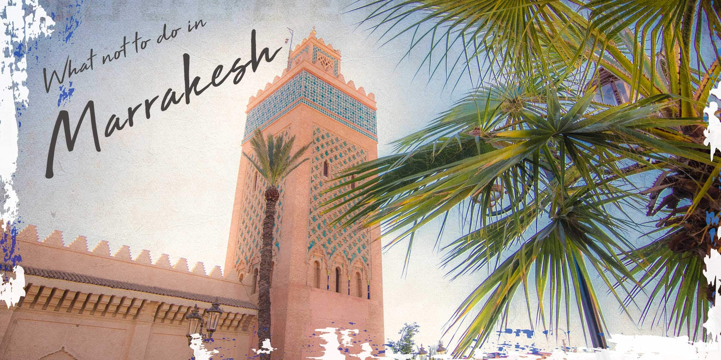 What not to do in Marrakesh cover card