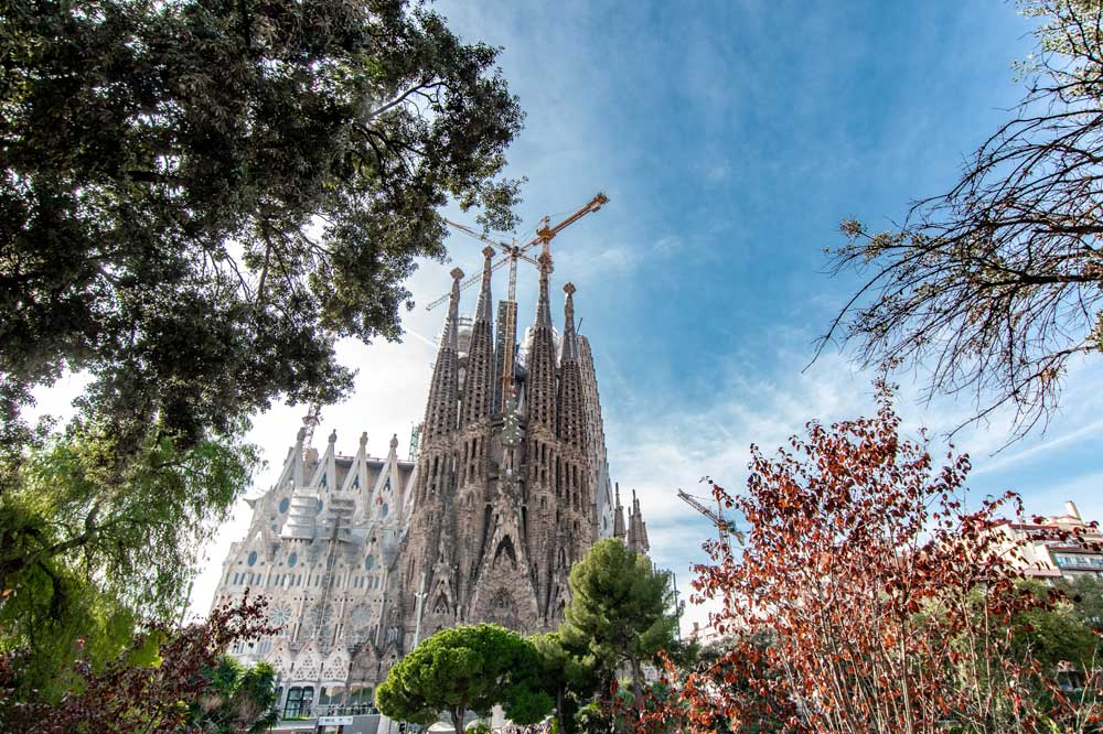 Bucket list ideas in Spain-Sagrada Familia