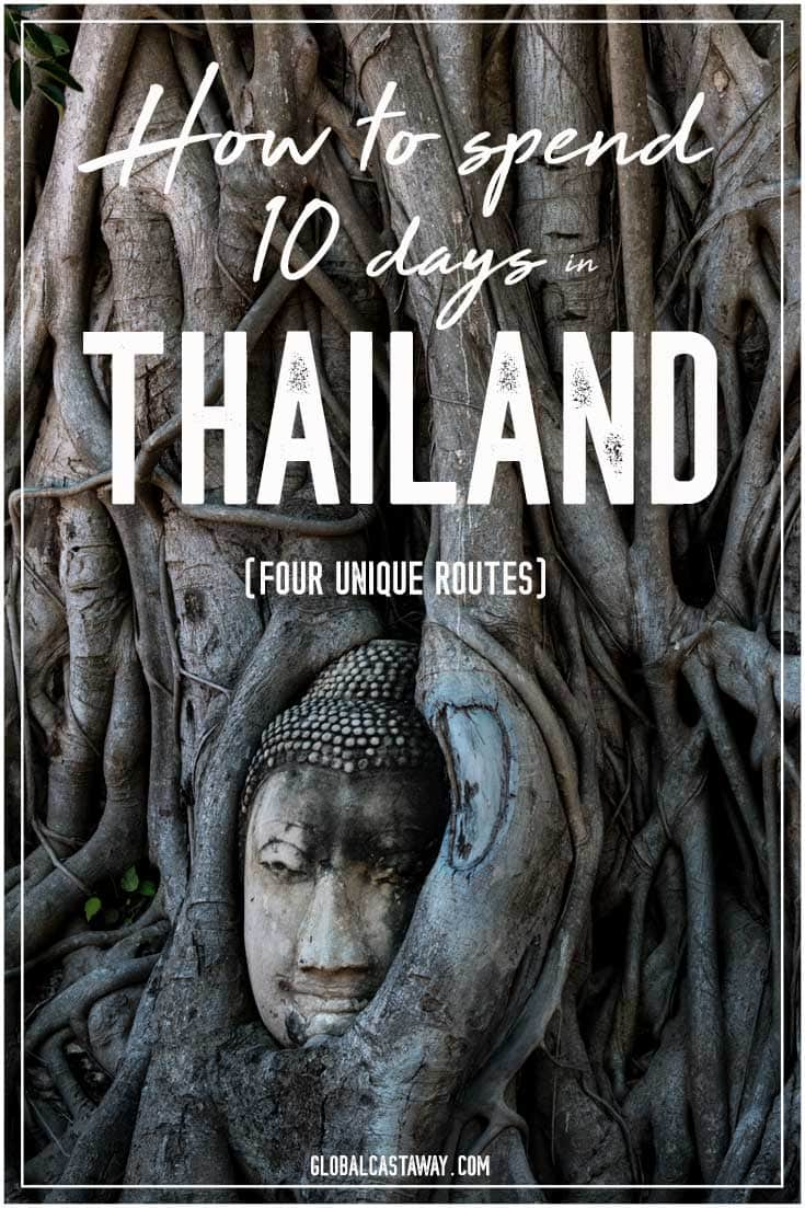 This 10 day Thailand itinerary is a compilation of 4 routes that will satisfy every type of traveler | 10 days in Thailand | Thailand itinerary | Thailand travel| Bangkok travel | Chiang Mai travel | Thailand travel guide | What to see in Thailand | Koh Tao travel | Koh Phangan travel | Krabi travel #thailand #thailandtravel #thailandguide #thailanditinerary