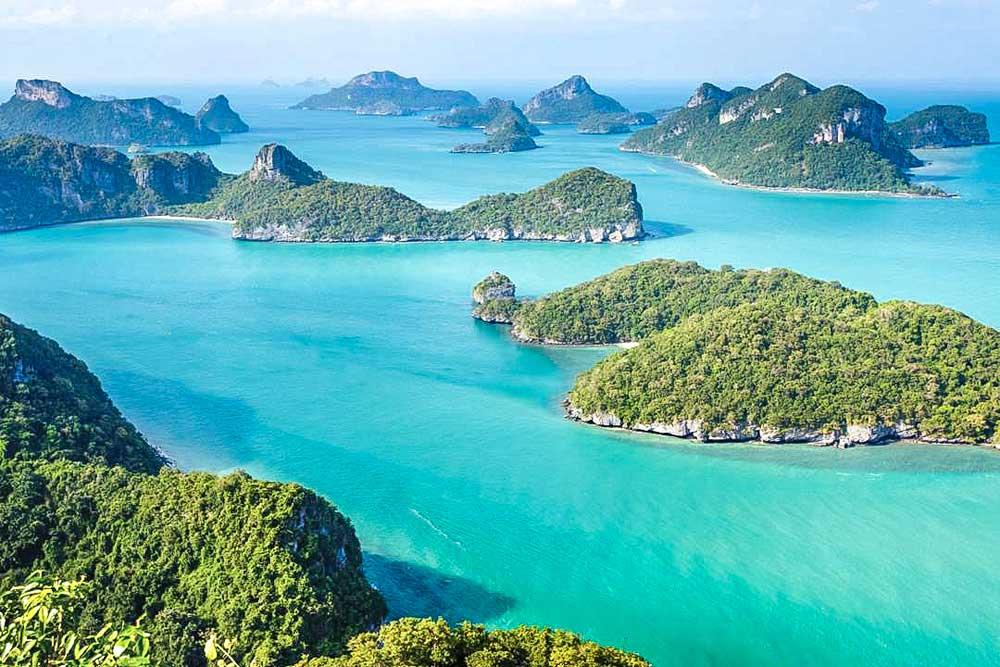 Anthong National Park panoramic view