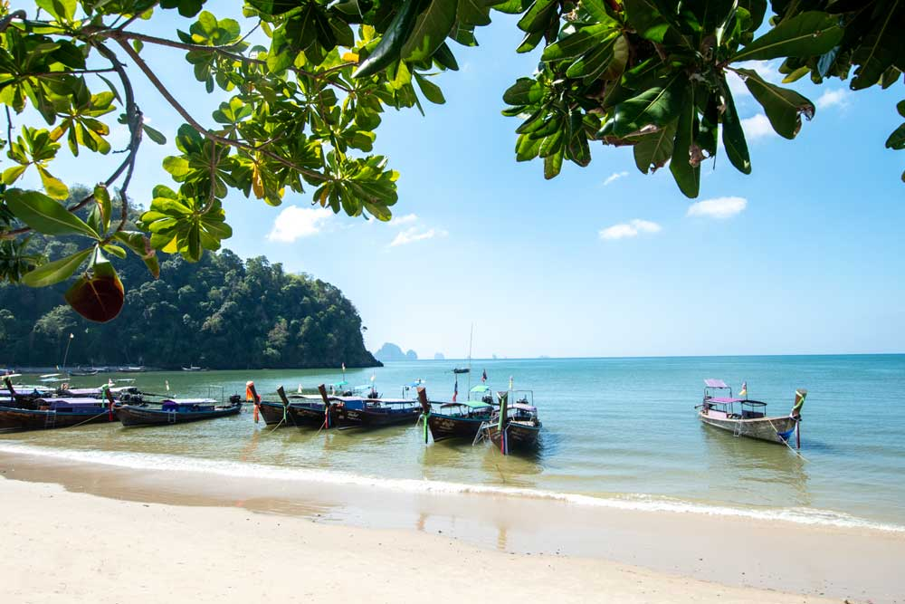 10 day Thailand itinerary - Beach Route