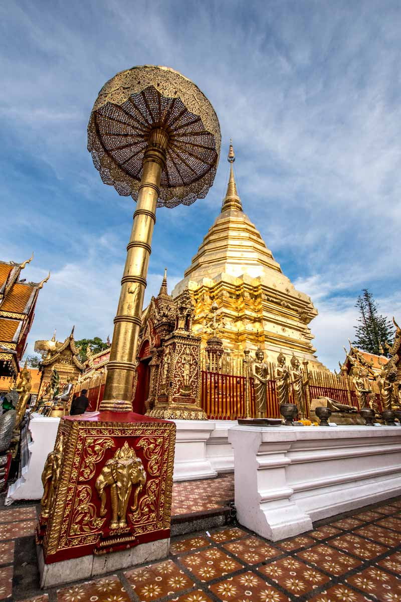 10 day Thailand itinerary - Doi Suthep