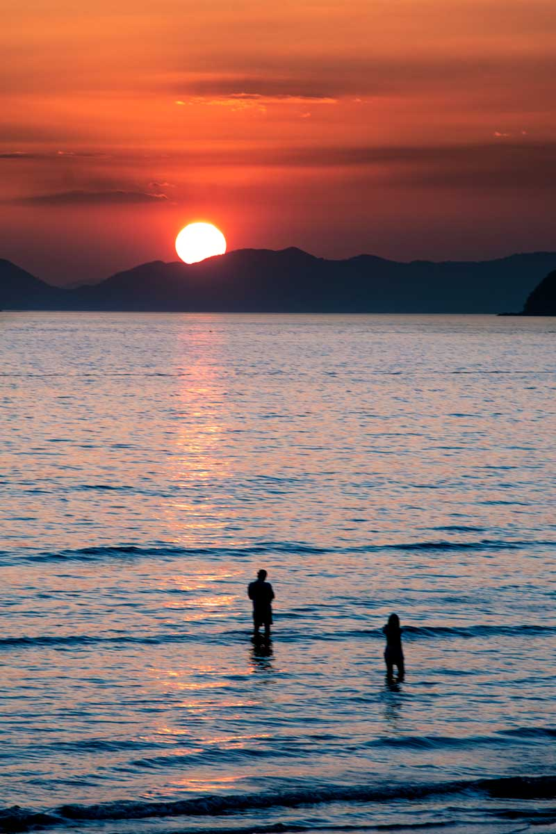 10 day Thailand itinerary - Krabi sunset