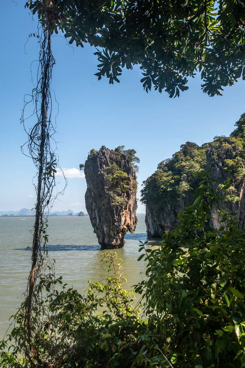 Thailand itinerary - James Bond Island