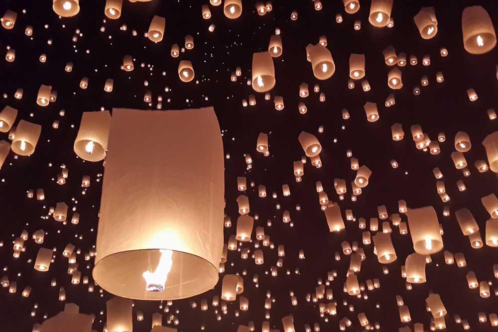 Chiang Mai's Lantern festival