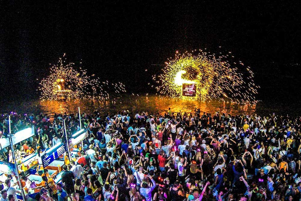 Full Moon party route