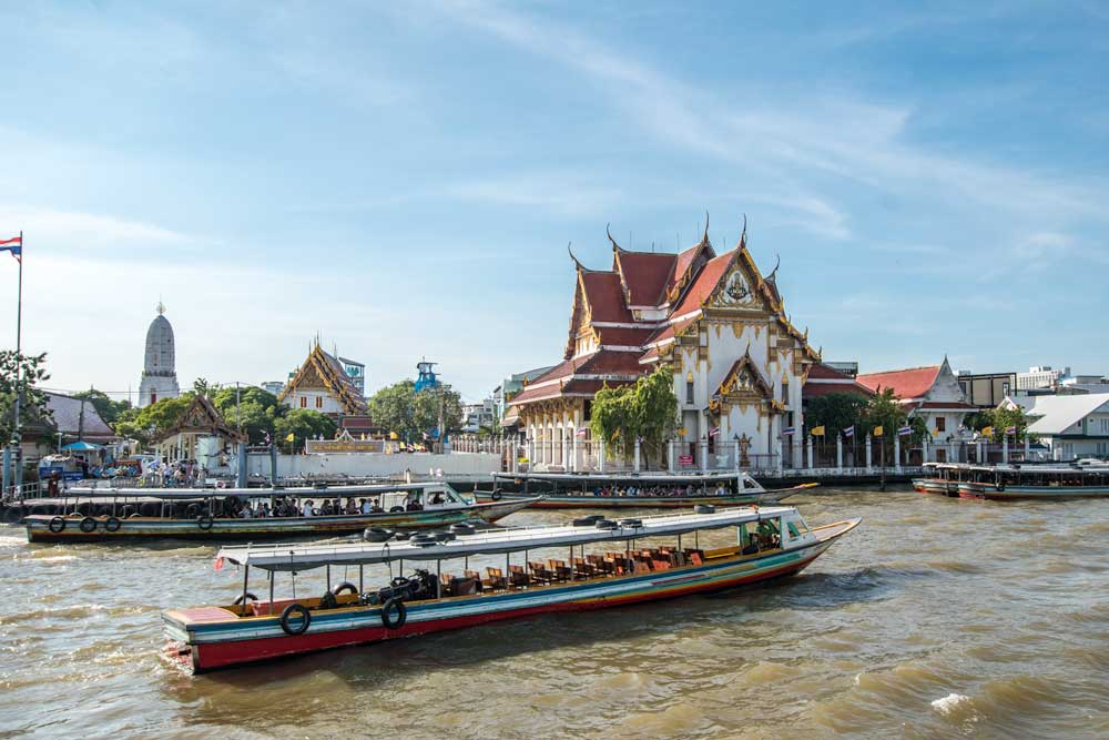 How to travel around Thailand?