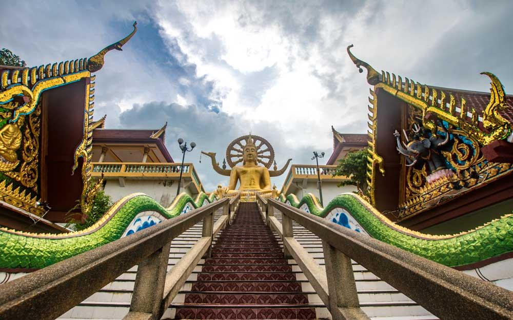 10 day Thailand itinerary - Koh Samui - Giant Buddha