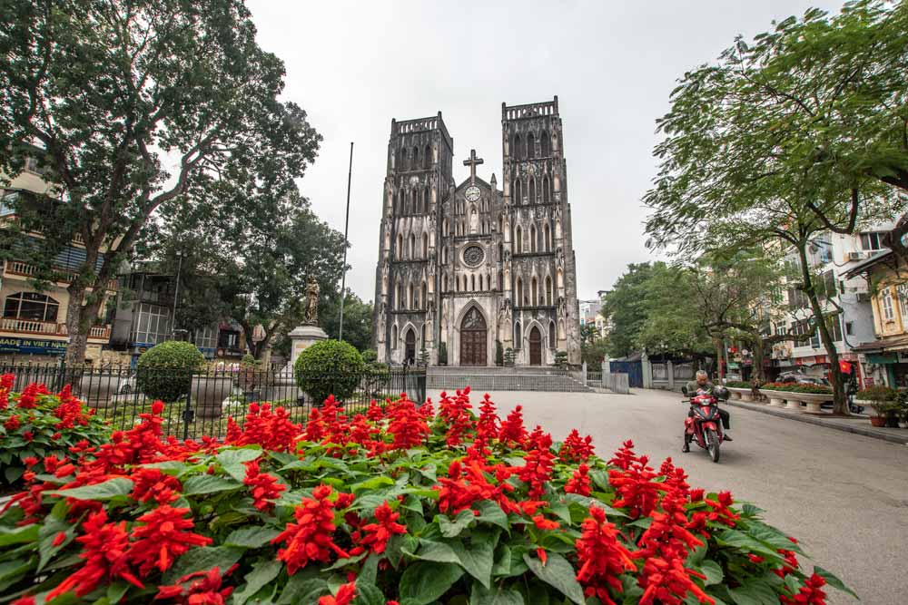 Hanoi facts - Frech architecture