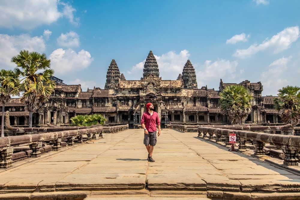 Angkor Wat photo spot - front gate